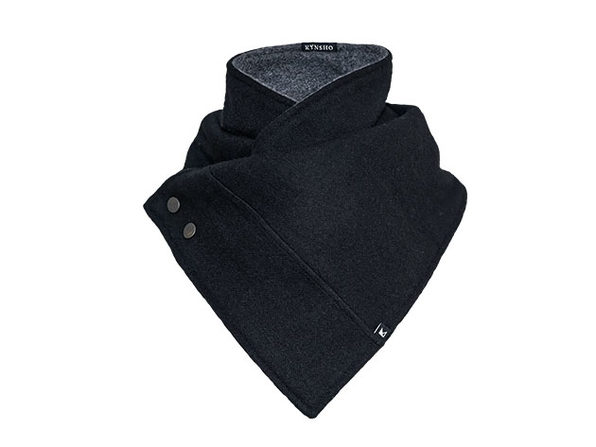 Crossover Cowl - Charcoal Black - Product Image
