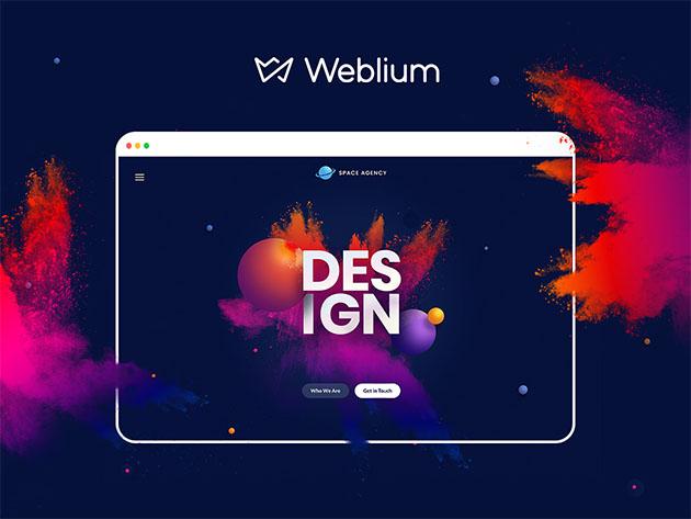 Stack Social Deal for Weblium Landing Page Pro: Lifetime Subscription