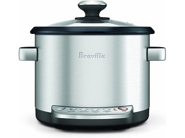 Breville BRC600XL Aluminum Risotto Plus Sauteing Slow Rice Cooker and Steamer (Like New, Damaged Retail Box)