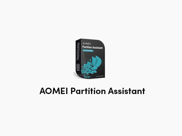 AOMEI Partition Assistant: Lifetime Upgrades