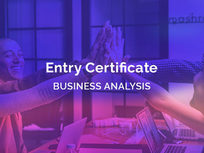 Entry Certificate in Business Analysis (ECBA) Certification - Product Image