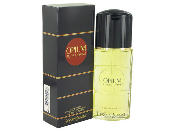 OPIUM by Yves Saint Laurent Eau De Toilette Spray 3.3 oz for Men (Package of 2)