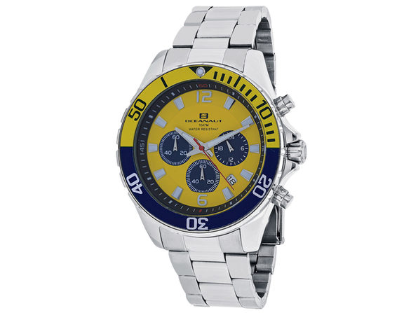 Oceanaut Men's Yellow Dial Watch - OC2525