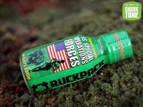 RuckPack Energy Shot Bundle - Product Image