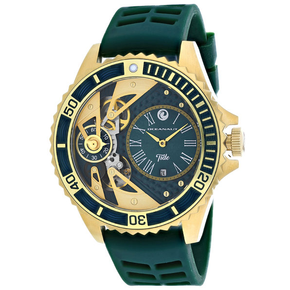 Oceanaut Men's Tide Green Dial Watch - OC0995 - Product Image