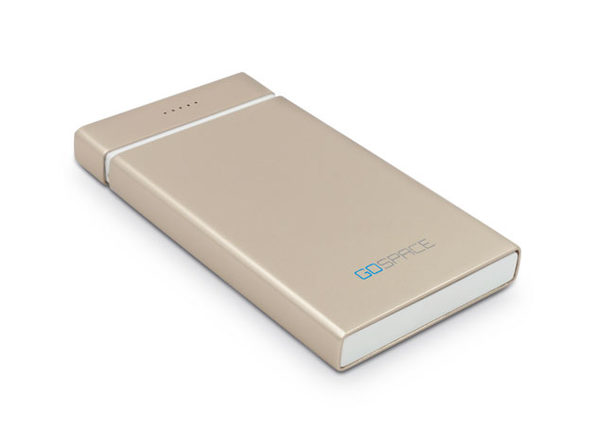 GoSpace SuperCloud 5G Wireless Storage and Charger (Gold)