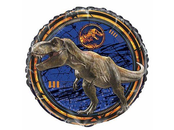 Party Supplies - Jurassic World - Metallic Balloon - 18 Inch