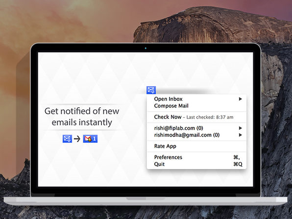 Alerts for Gmail - Product Image