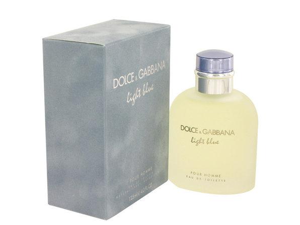 Light Blue by Dolce & Gabbana Eau De Toilette Spray 4.2 oz for Men (Package of 2)