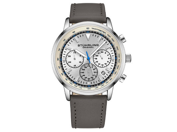 Quartz 44mm Chronograph Men's Watch