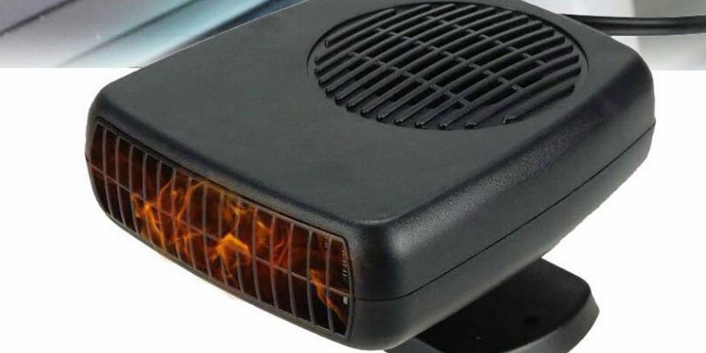 Powerful 200W 2-in-1 Car Heater Windshield Defroster, on sale for $27.99 (30% off)