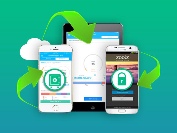 Zoolz Cloud Backup Storage: Lifetime of 1TB Instant Vault and 1TB of Cold Backup Storage