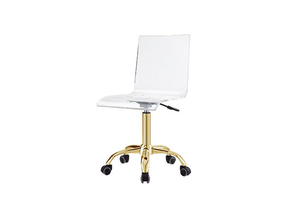 Superb Casandra Clear Acrylic Task Chair Stacksocial Spiritservingveterans Wood Chair Design Ideas Spiritservingveteransorg