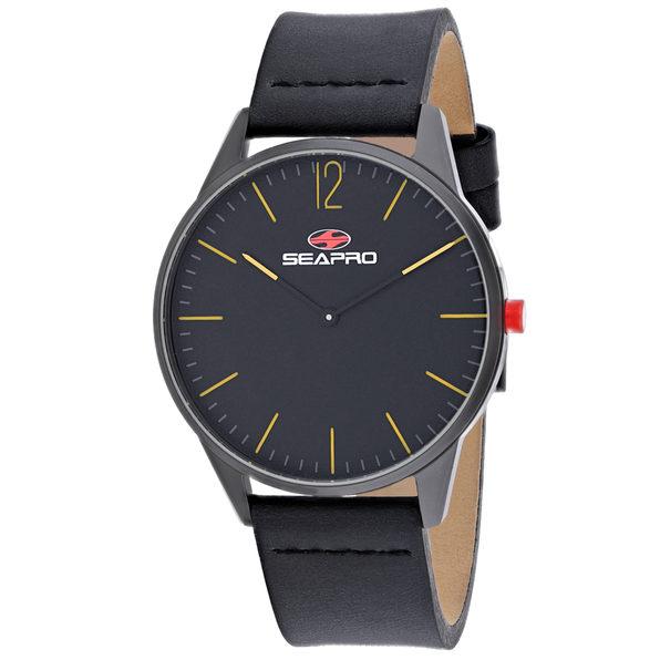 Seapro Men's Black hole Black Dial Watch - SP0102