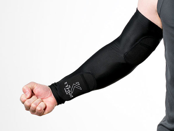 Dual Compression Full Arm Sleeves with Freeze Packs (Extra Large)
