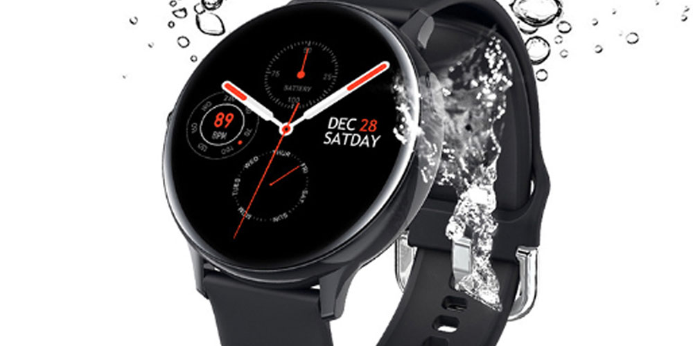 Smart Watch Round Face Health Monitor & Activity Tracker, on sale for $49.99 (66% off)