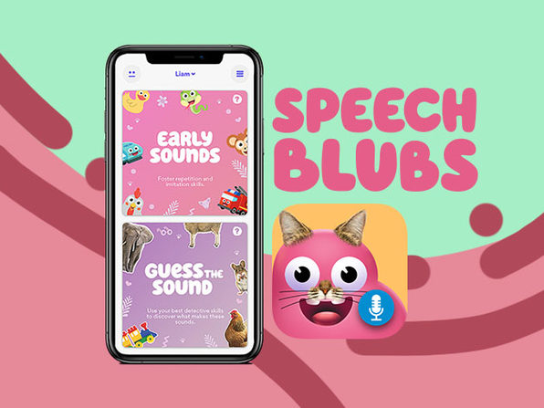 Speech Blubs Language Therapy: 1-Yr Subscription