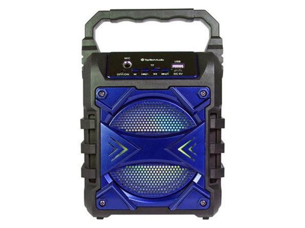 JET 4 Portable Bluetooth Speaker Blue - Product Image