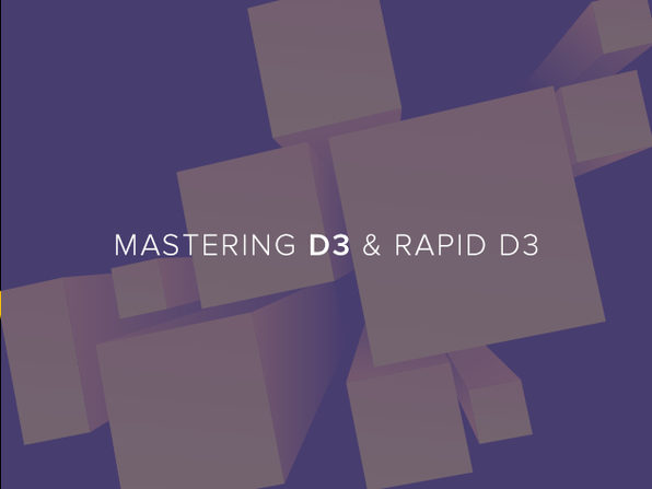 Mastering D3 & Rapid D3 - Product Image