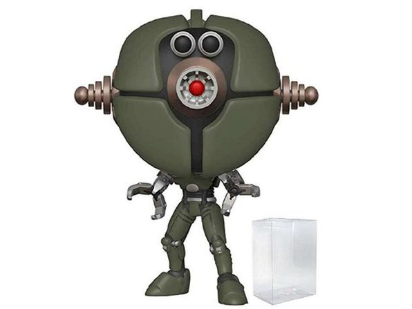 Funko POP - Fallout - Assaultron - Figure with Pop Protector