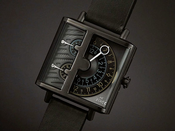 Xeric Soloscope SQ Quartz Watch (Gunmetal Black)