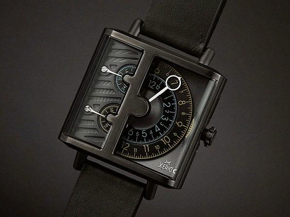 Xeric Soloscope SQ Quartz Watch (Gunmetal Black)