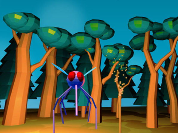Unity VR Development: Night with Mosquitos Game