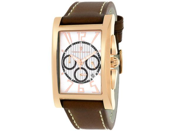 Christian Van Sant Men's Cannes White Dial Watch - CV4515