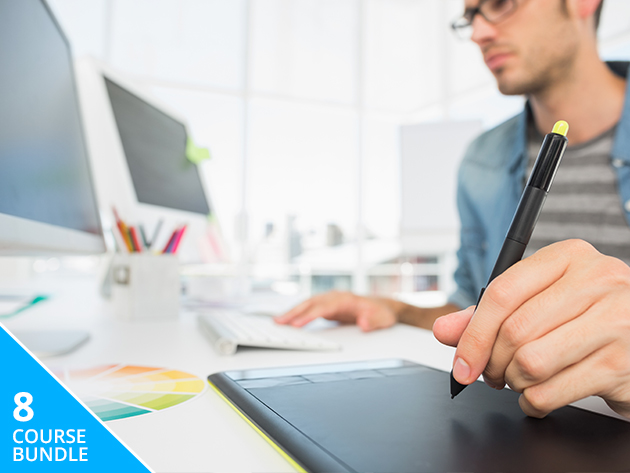 Master Web Design w/ 8 Courses & 80+ Hrs of Professional Instruction