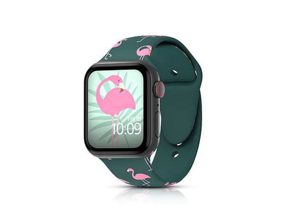 MobyFox 38mm Apple Watch Band (Flamingos)