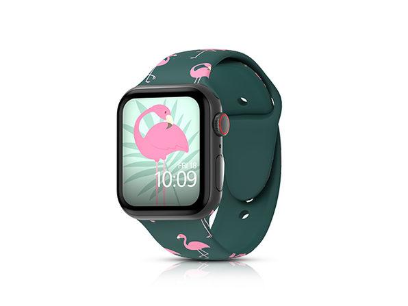 MobyFox 38mm Apple Watch Band (Flamingos)
