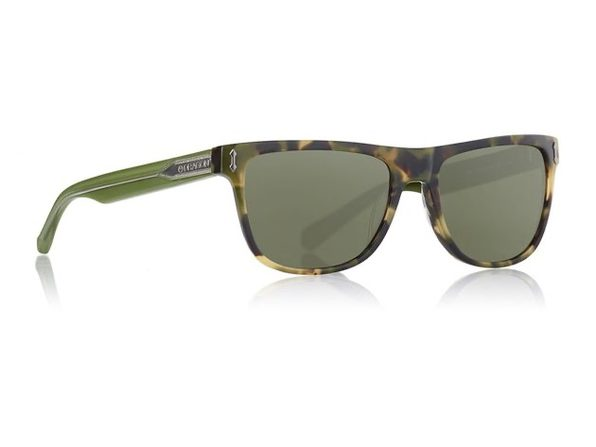 Dragon Alliance Brake Tokyo Tortoise Frames with Smoke Lens Sunglasses - Brown