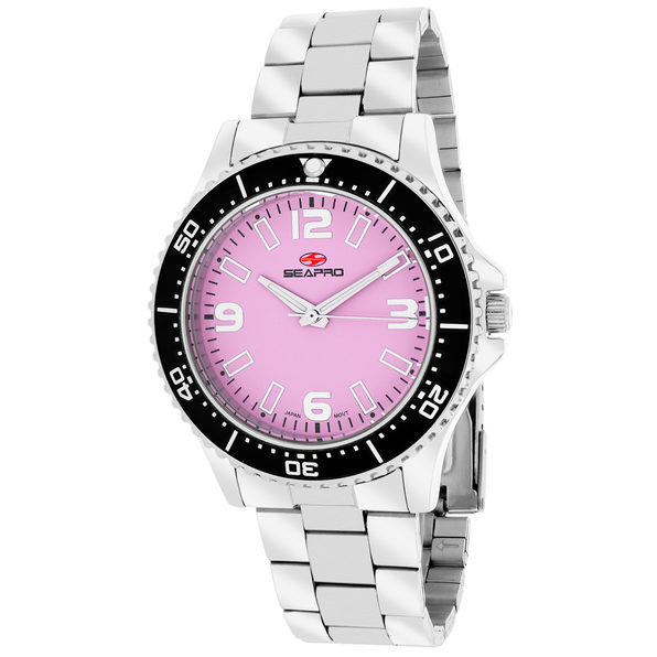 Seapro Women's Tideway Pink Dial Watch - SP5412