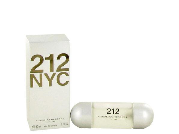 212 by Carolina Herrera Eau De Toilette Spray (New Packaging) 1 oz for Women (Package of 2) - Product Image