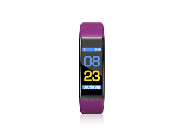 Fitness Tracker Watch V21 (Purple)