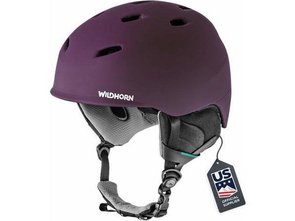 Wildhorn US Ski Team Official Supplier Drift Snowboard & Ski Helmet, M - Velvet (New, Damaged Retail Box)
