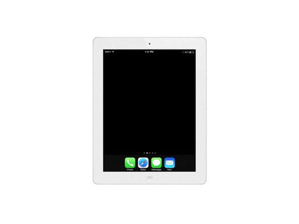 Refurbished iPad 4 16GB White - Good Condition - Product Image
