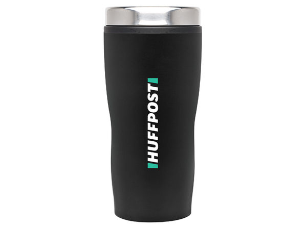 HuffPost Double Wall Stainless Steel Tumbler