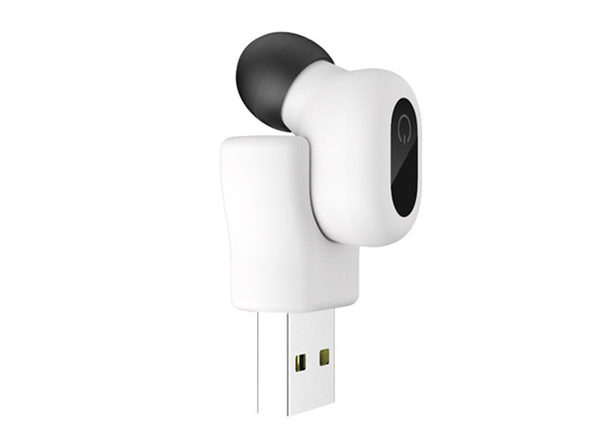 SOLO Aqua Tunes V.2 Waterproof Bluetooth Enabled Earphone - White - Product Image
