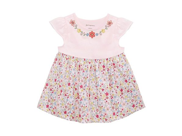 First Impressions Baby Girls Floral-Print Cotton Tunic Pink Size 12 Months