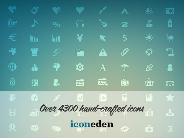 4300 Handcrafted Icons Bundle - Product Image