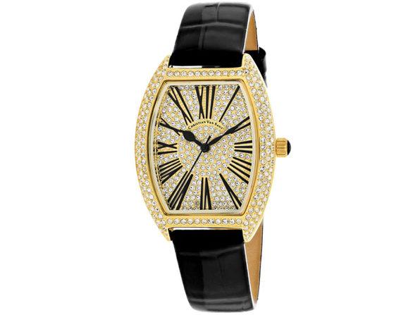 Christian Van Sant Women's Chic Gold Dial Watch - CV4842