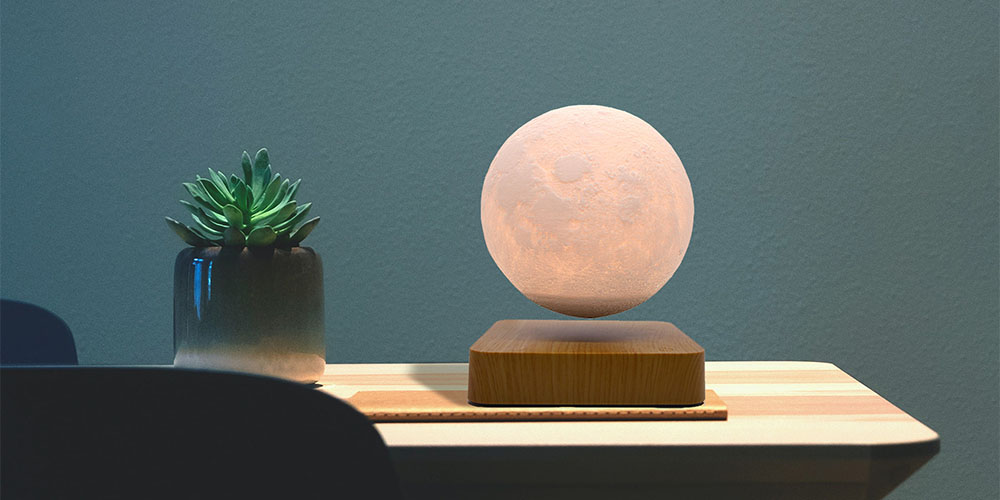 LampDepot LED Levitating Lamp, on sale for $106.99 (28% off)