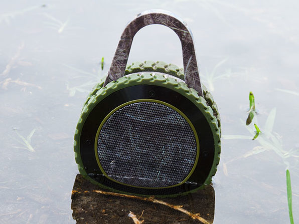 All-Terrain Sound: The World's Most Experienced Speaker (Camo)
