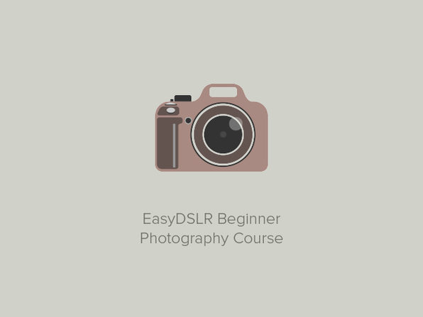 EasyDSLR Beginner Photography Course - Product Image