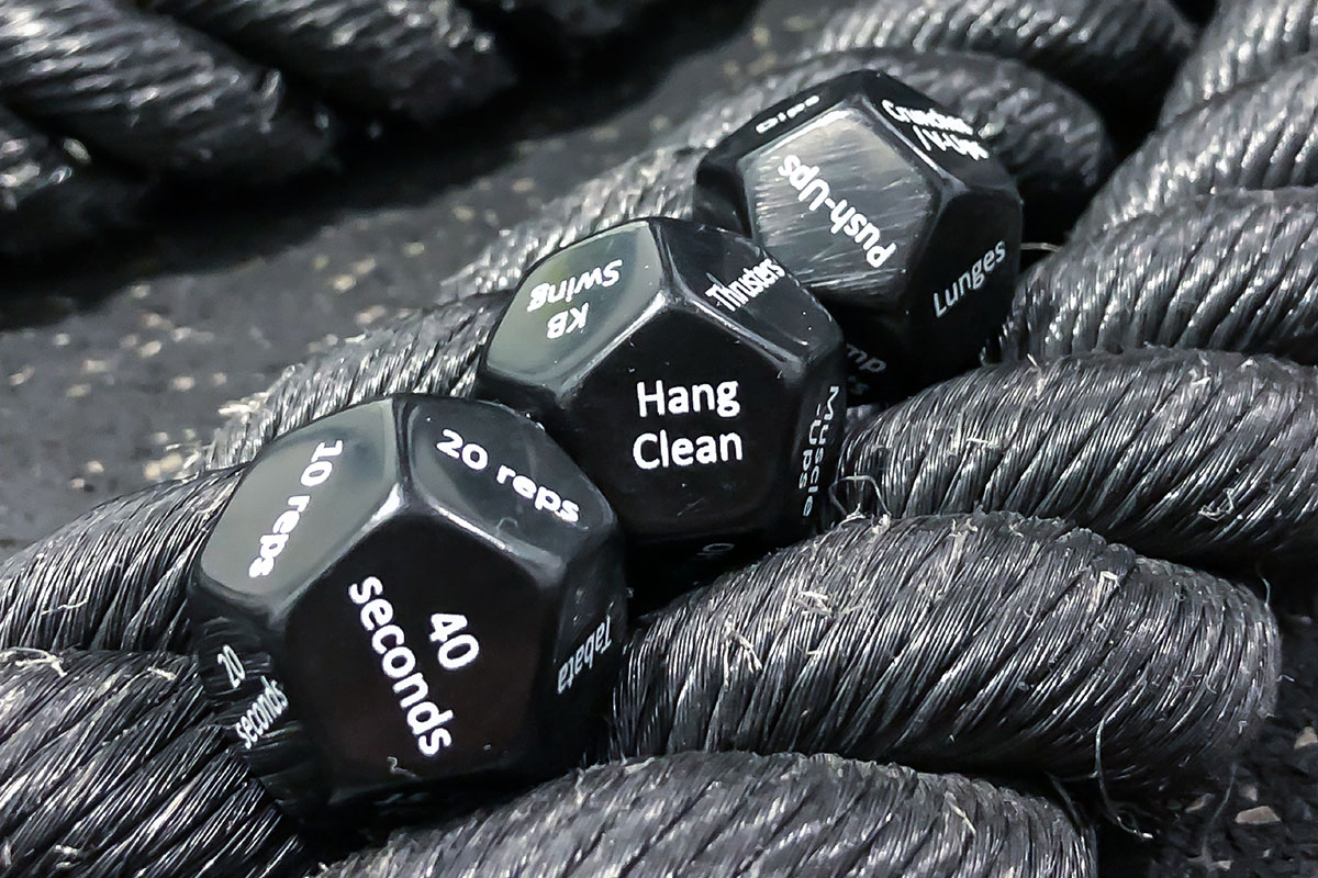 Rubberbanditz Exercise Dice + Fitness Bands, on sale for $24.99 (16% off)