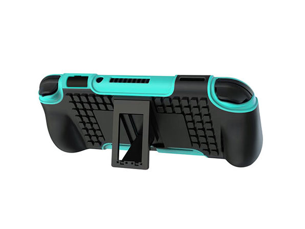 2-in-1 Protective Case with Stand for Nintendo Switch Lite - Turquoise - Product Image
