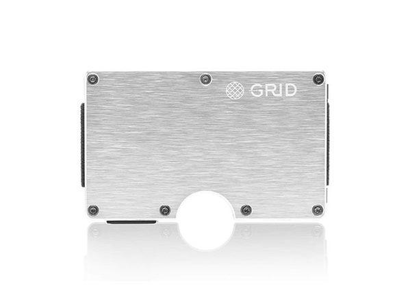 Grid Wallet (Silver Aluminum)