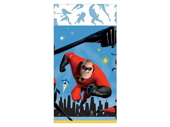 """Party Supplies - Incredibles - Table Cloth - 54""""X108"""""""