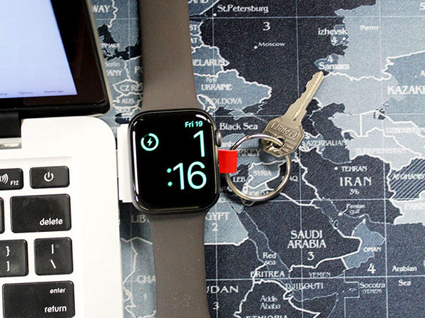 Portable Keychain Apple Watch Charger (White)